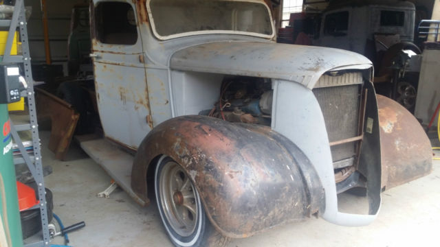 1937 Chevrolet Truck Rat Rod Street Rod Cab Chassis