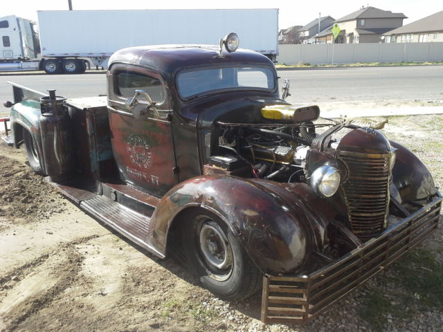 290899 1937 Chevy C40 Rat Rod Ratrod Daily Driver 350 Harley Hauler Long Bed on gmc 650 truck