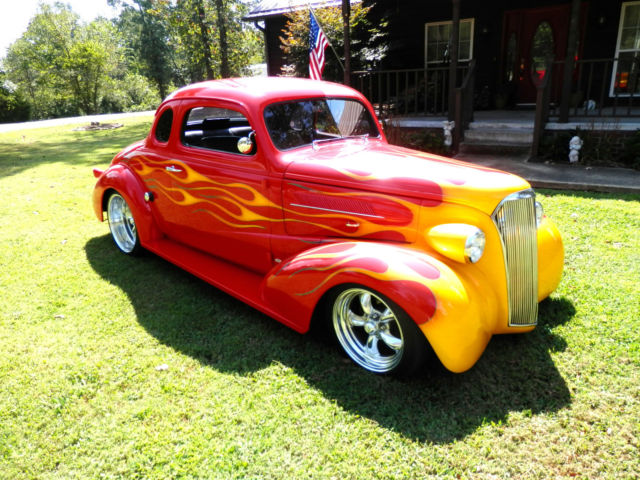 1937 Chevy Coupe All Steel Custom Classic Street Rod Hot
