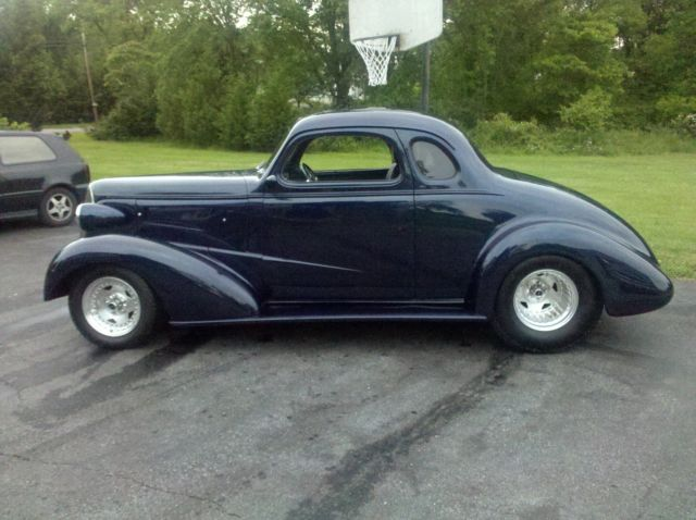 1937 chevy coupe  midnight blue pearl color