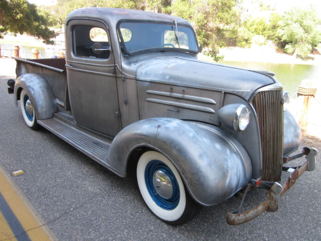 1937 Chevy Pickup Hotrod All Original And Complete W