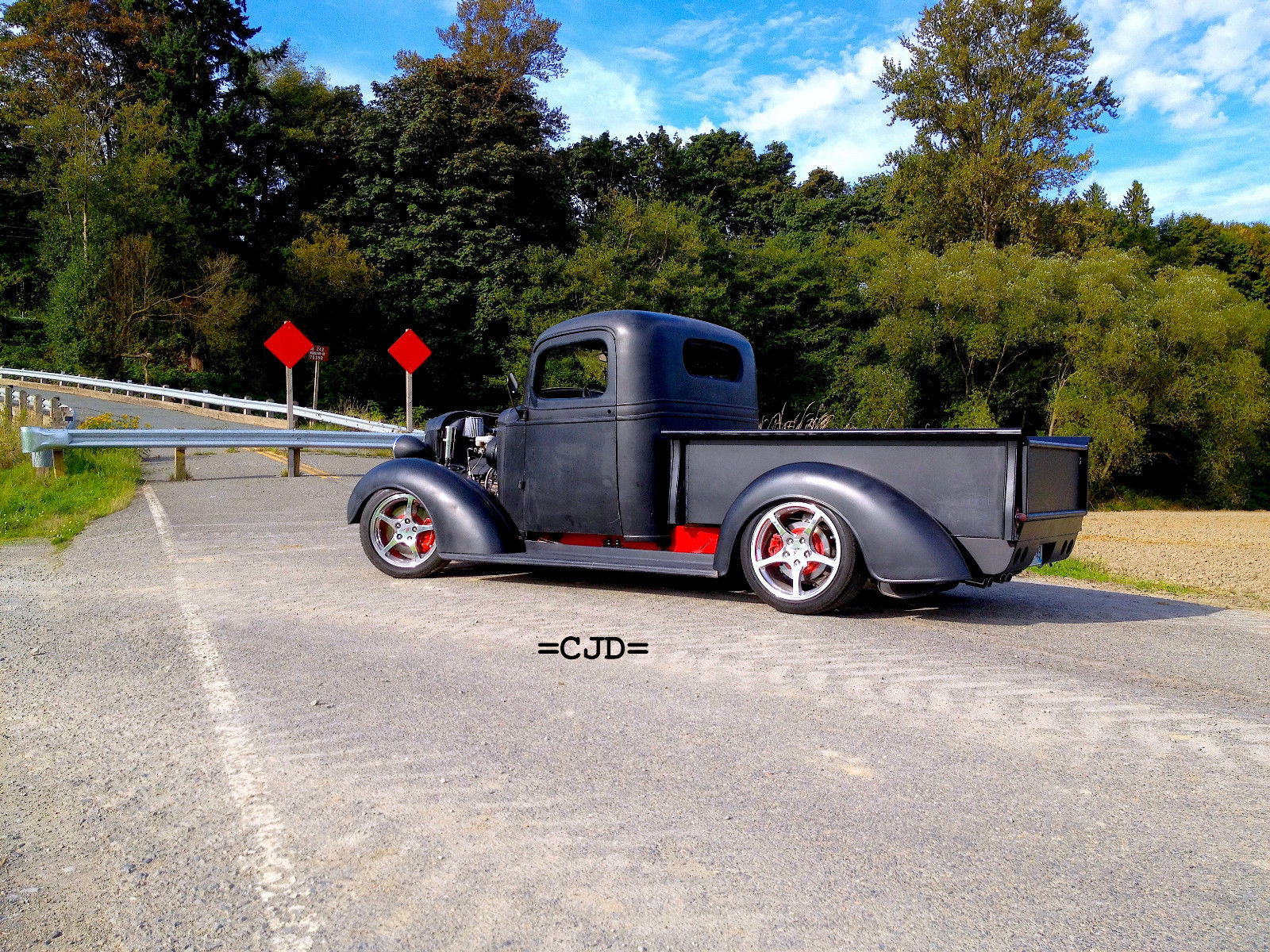 1937 Chevy Pickup truck corvette ls1 t56 street rod hot project custom