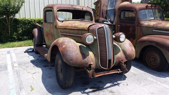 1937 Dodge Rat Rod Patina Truck Classic Dodge Other 1937