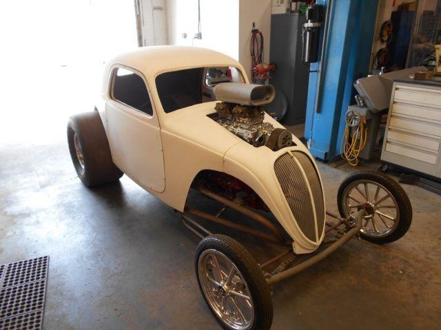 1937 drag car project
