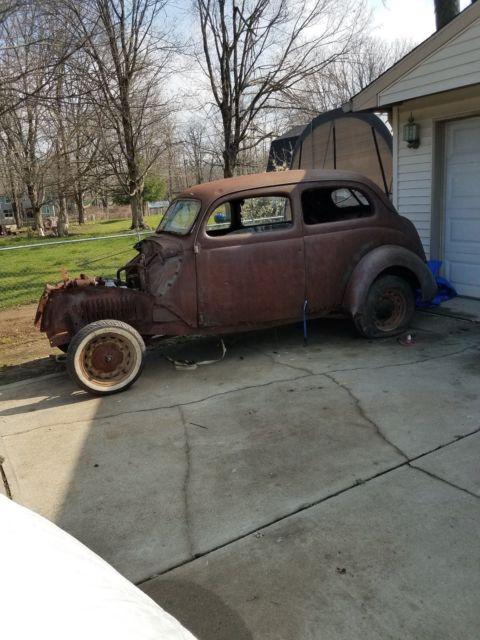 1937 Ford 2 Door Sedan, Project, Rat Rod, Parts - Classic