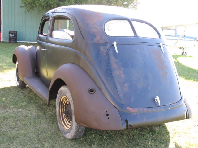 1937 Ford 2 Door Sedan Slantback Classic Ford Other 1937