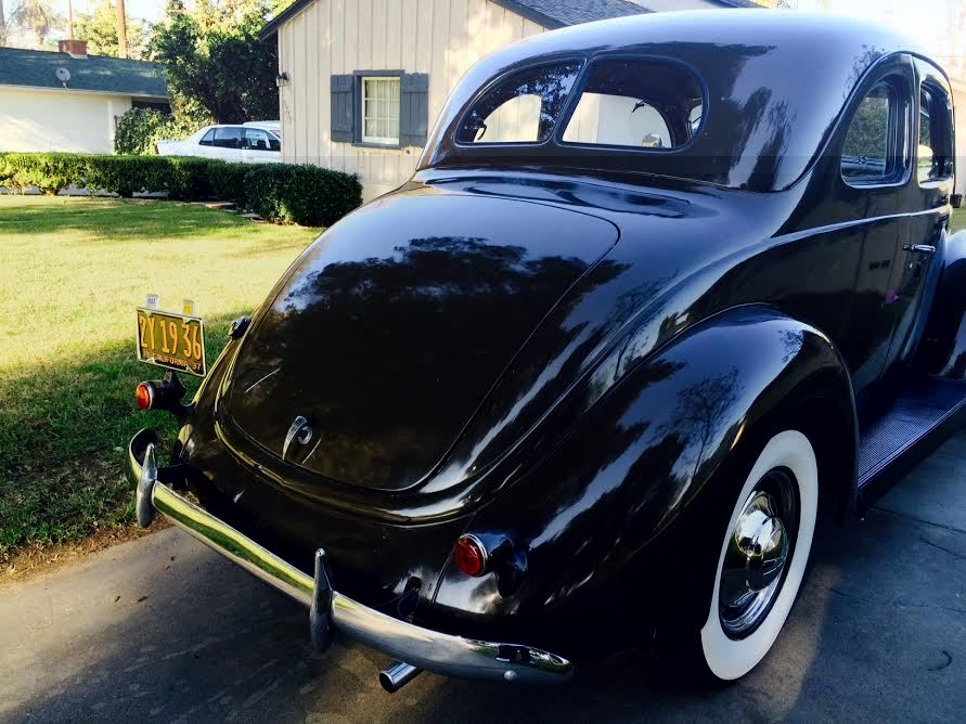 1937 Ford 2door Coupe Deluxe Classic Ford Other 1937 For