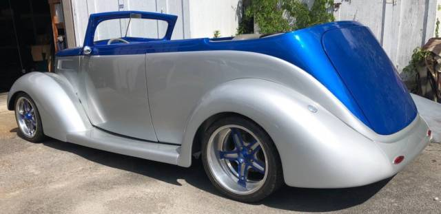 1937 Ford Cabriolet Lt4 Downs Body With Carson Top