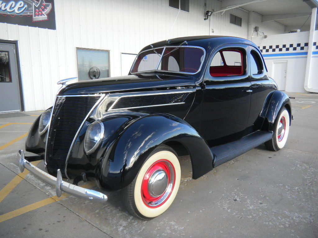 Ford Coupe Incredible Restoration Original Flathead V on 1937 Ford Coupe Interior
