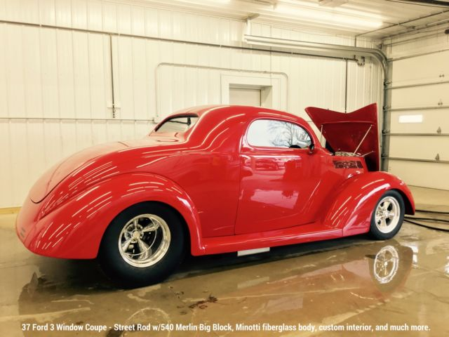 1937 ford custom minotti body 3 window coupe classic for 1937 ford 3 window