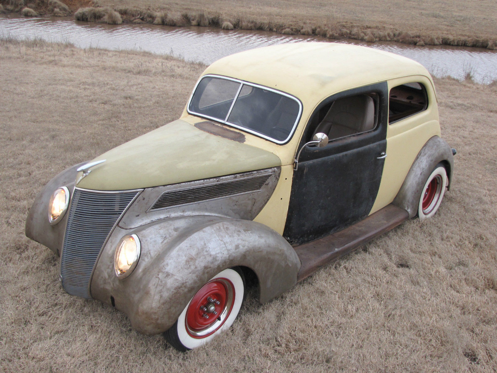 1937 Ford Slantback 2 Door Sedan Running Project With The Patina Rat Rear Wiring Harness Rod Look