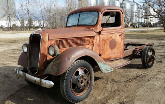 1937 Ford Truck Rat Rod Vintage 37 1 Ton - Classic Ford ...