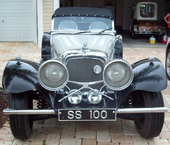 1937 Jaguar Roadster SS100 Kit Car