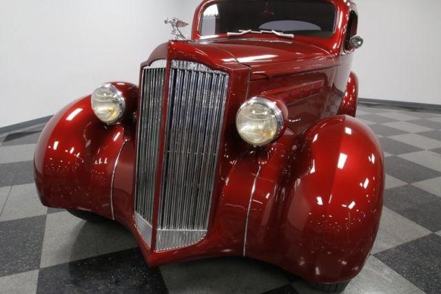 1937 Packard 115 Business Coupe Restomod Hardtop 350 V8 Crate 4