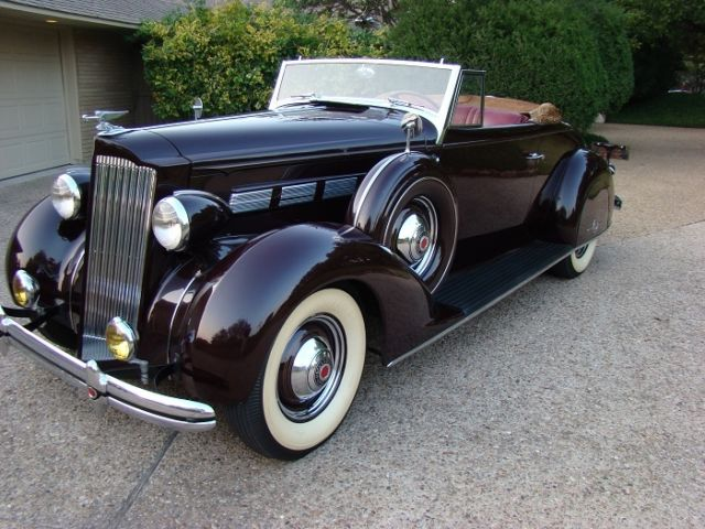 1937 packard 120c convertible coupe roadster with rumble for 1937 packard 3 window coupe