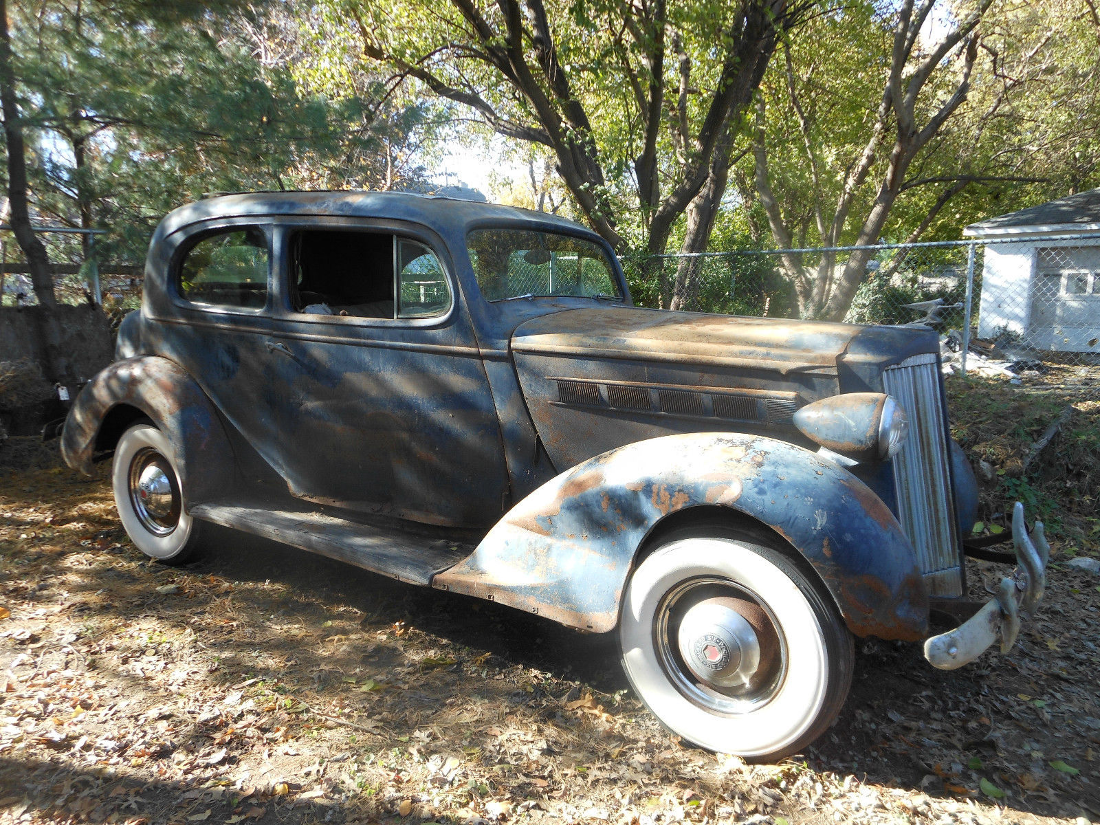 1937 Packard 2 Door Barn Find 115 C Touring Coupe Chevy
