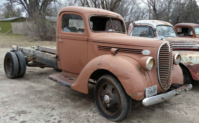 1938 1939 Ford Truck Vintage 38 39 Fomoco Classic Ford