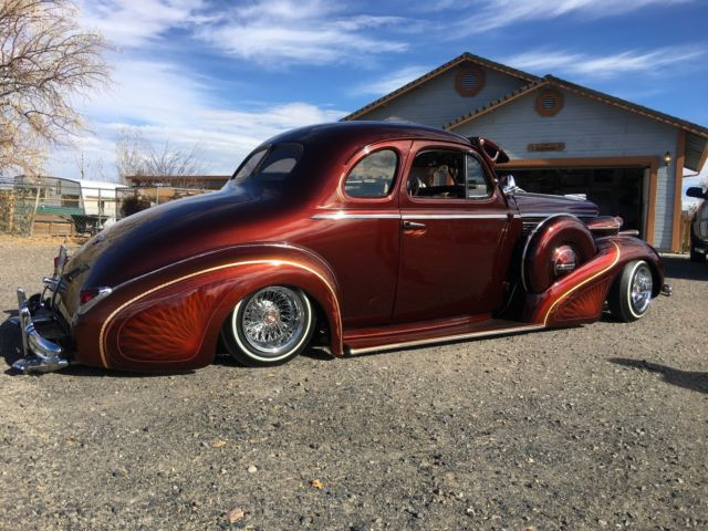 1938 Buick Especial Custom Low Rider Hot Rod Low Rod