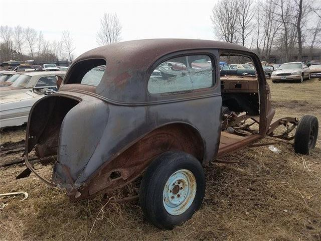 1938 chevrolet 2 door sedan rust none classic chevrolet for 1938 chevy 2 door sedan for sale
