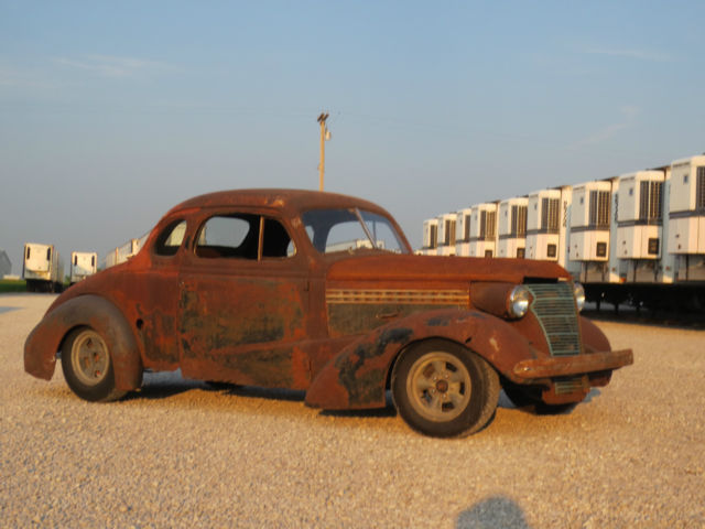 1938 Chevy Coupe Rat Rod - Classic Chevrolet Coupe 1938 for sale