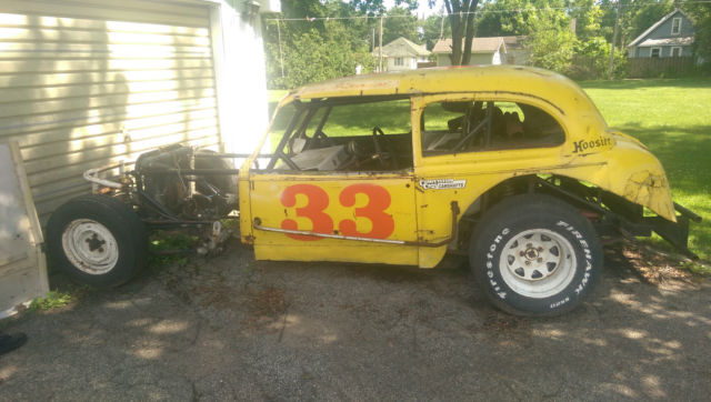 1938 Chevy Coupe Vintage Stock Race Car Rat Hot Rod Ford