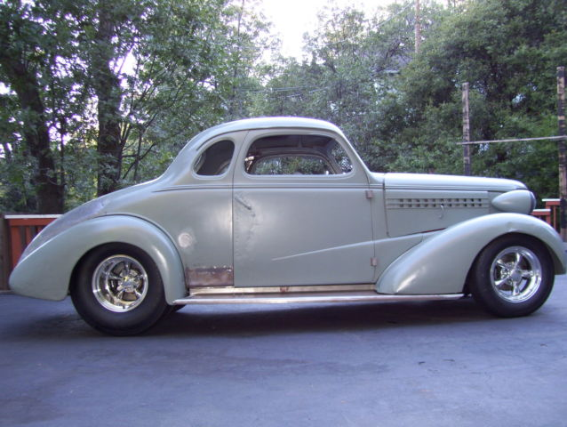 1938 Chevy Pro Street Coupe PROJECT Street Rod Rolling Chassis(no