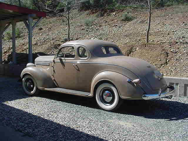 1938 dodge businessmans coupe classic dodge other 1938