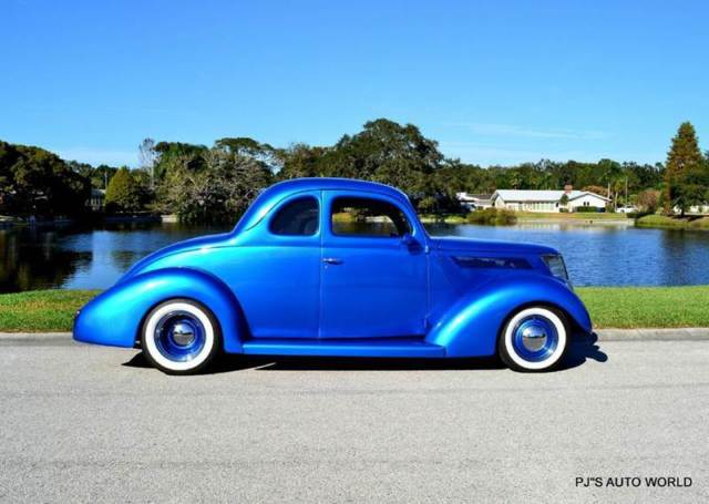 1938 Ford 5 Window Coupe street rod 38,396 Miles Blue Coupe 350 Automatic - Classic Ford Other ...