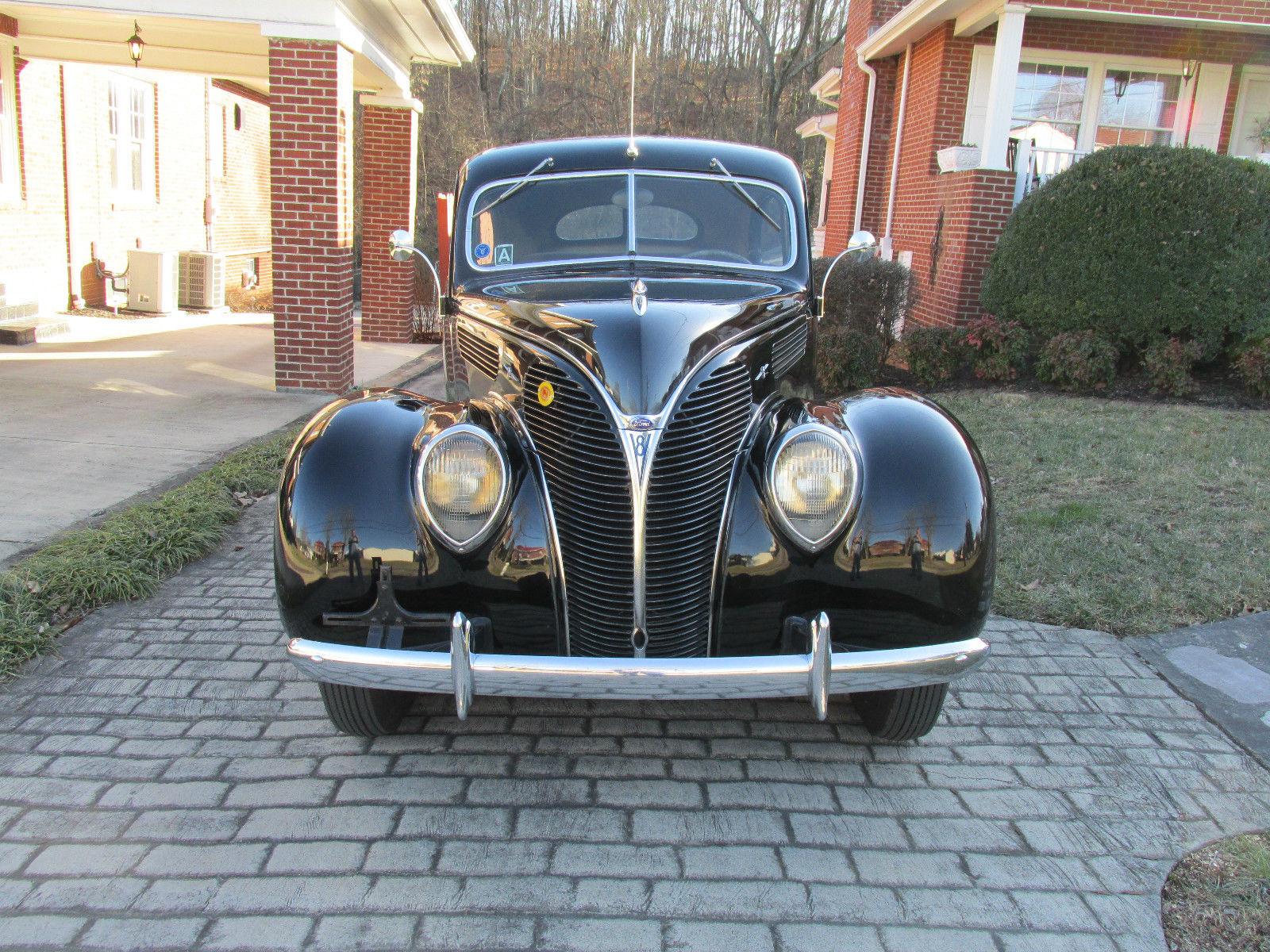 1938 Ford Deluxe Tudor Sedan Flathead V8 All Orginal Low Miles 1941