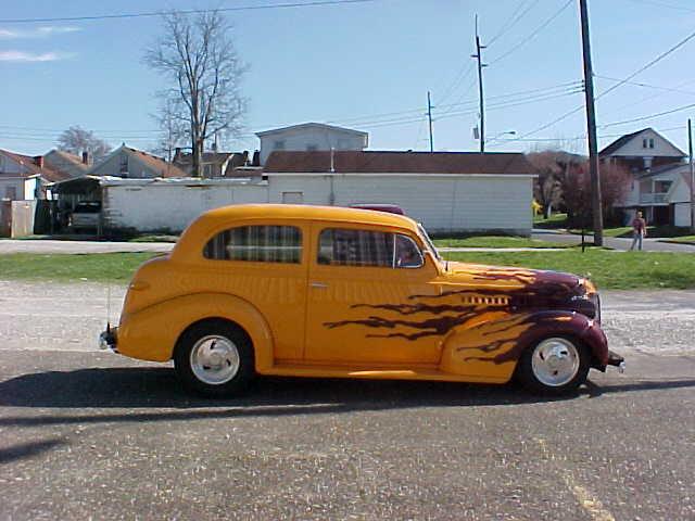 1939 CHEV TWO DOOR SEDAN STREET ROD - Classic Chevrolet