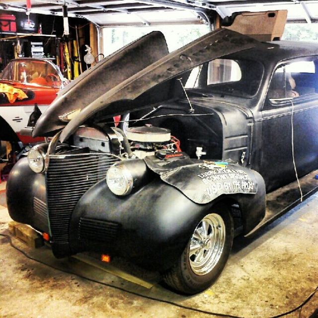 1939 Chevy 2 Door Sedan Hot Rod