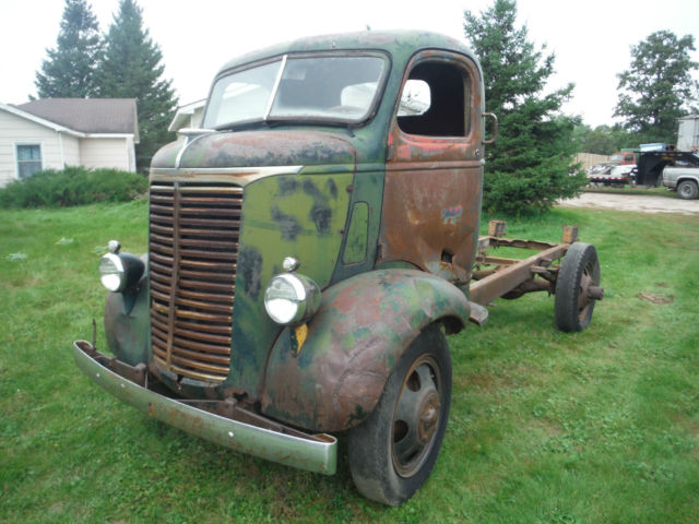 1939 chevy coe cabover truck
