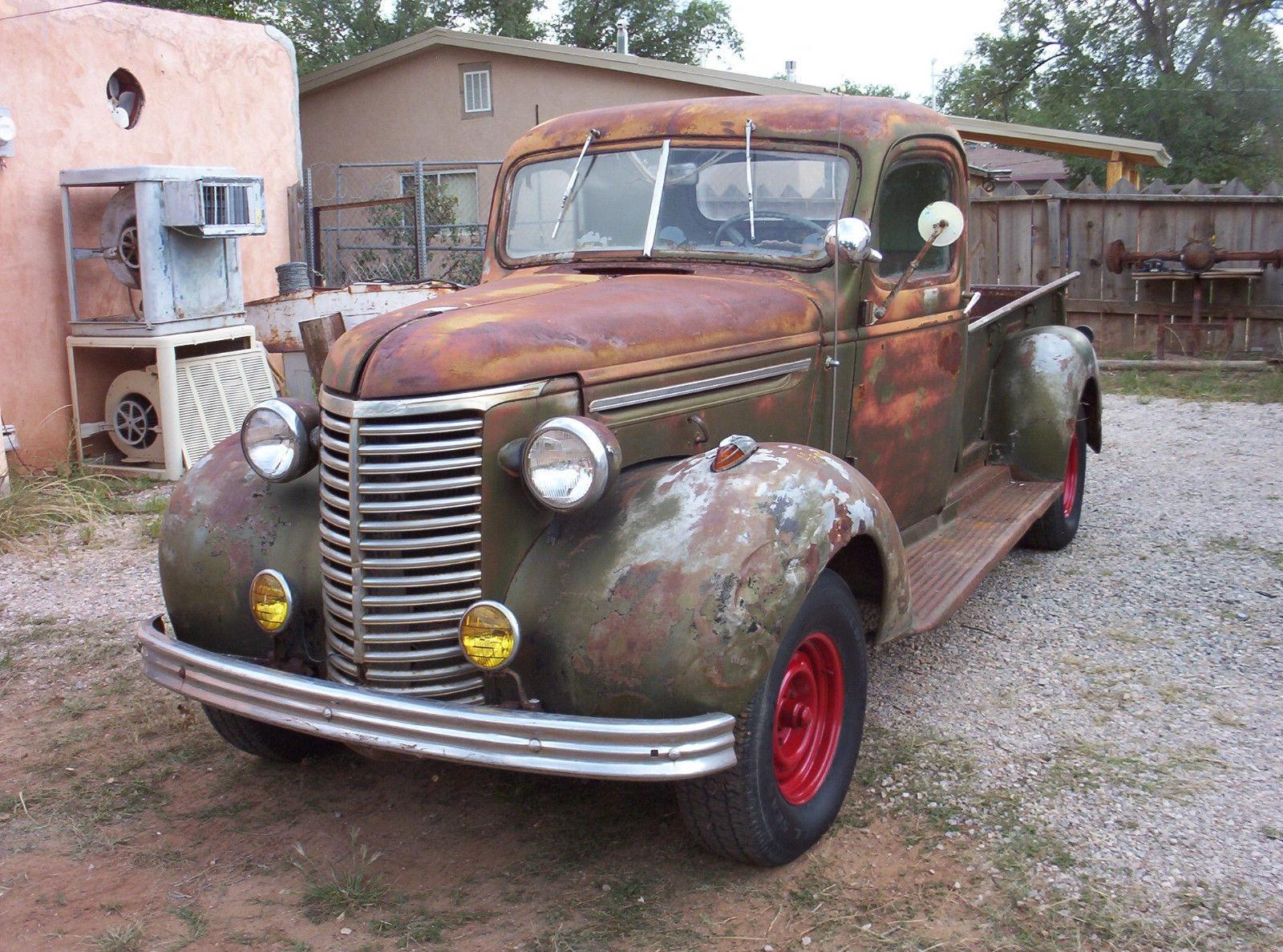 1939 chevy pickup, rat rod, hot rod, barn find, patina ...
