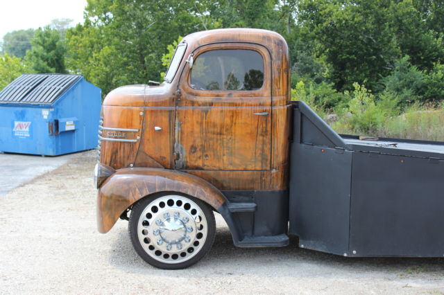 """1939 DODGE COE CAR HAULER CUMMINS DIESEL 22"""" ALCOA WHEELS ..."""