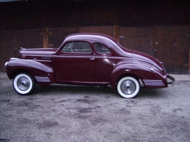 1939 Coupe Dodge Business Chopped