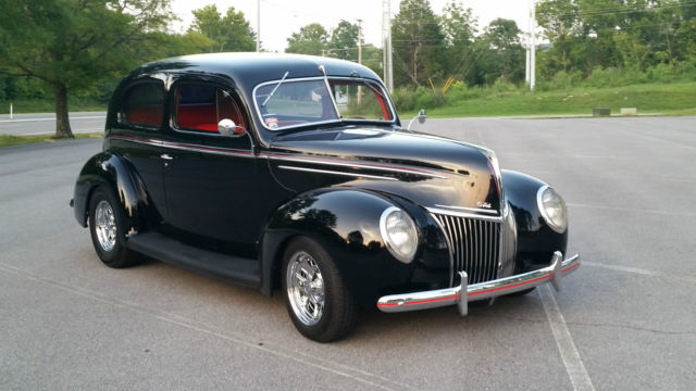 1939 ford deluxe 2 door sedan street rod driver sbc for 1939 ford 2 door sedan for sale