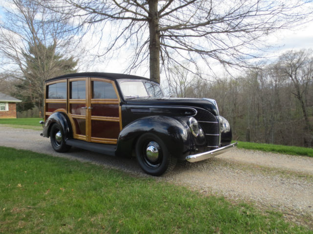 1939 Ford Woodie Wagon Street Rod Woody Standard Corvette