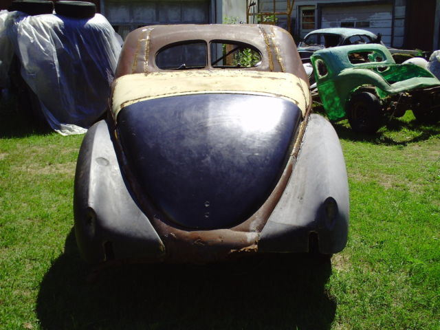 Bill Hood Ford >> 1939 lincoln zephyr coupe 3w 1937 1938 ratrod street rod ford coupe project - Classic Lincoln ...