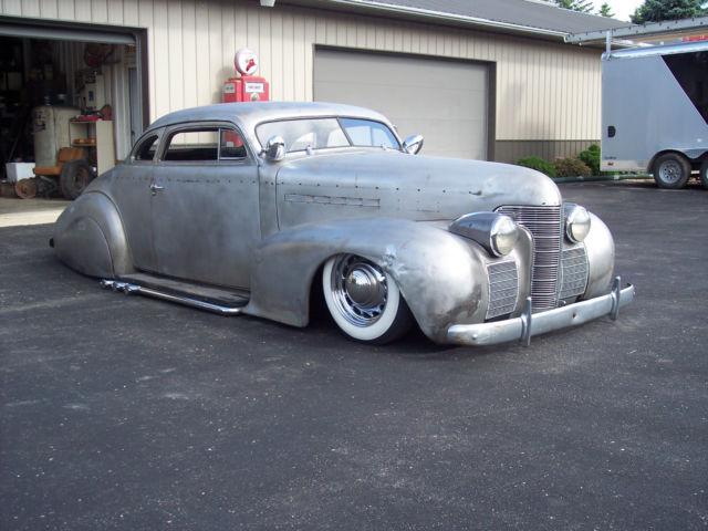1939 Oldsmobile Coupe Chopped Bagged Hot Rod Rat Scta Sbc