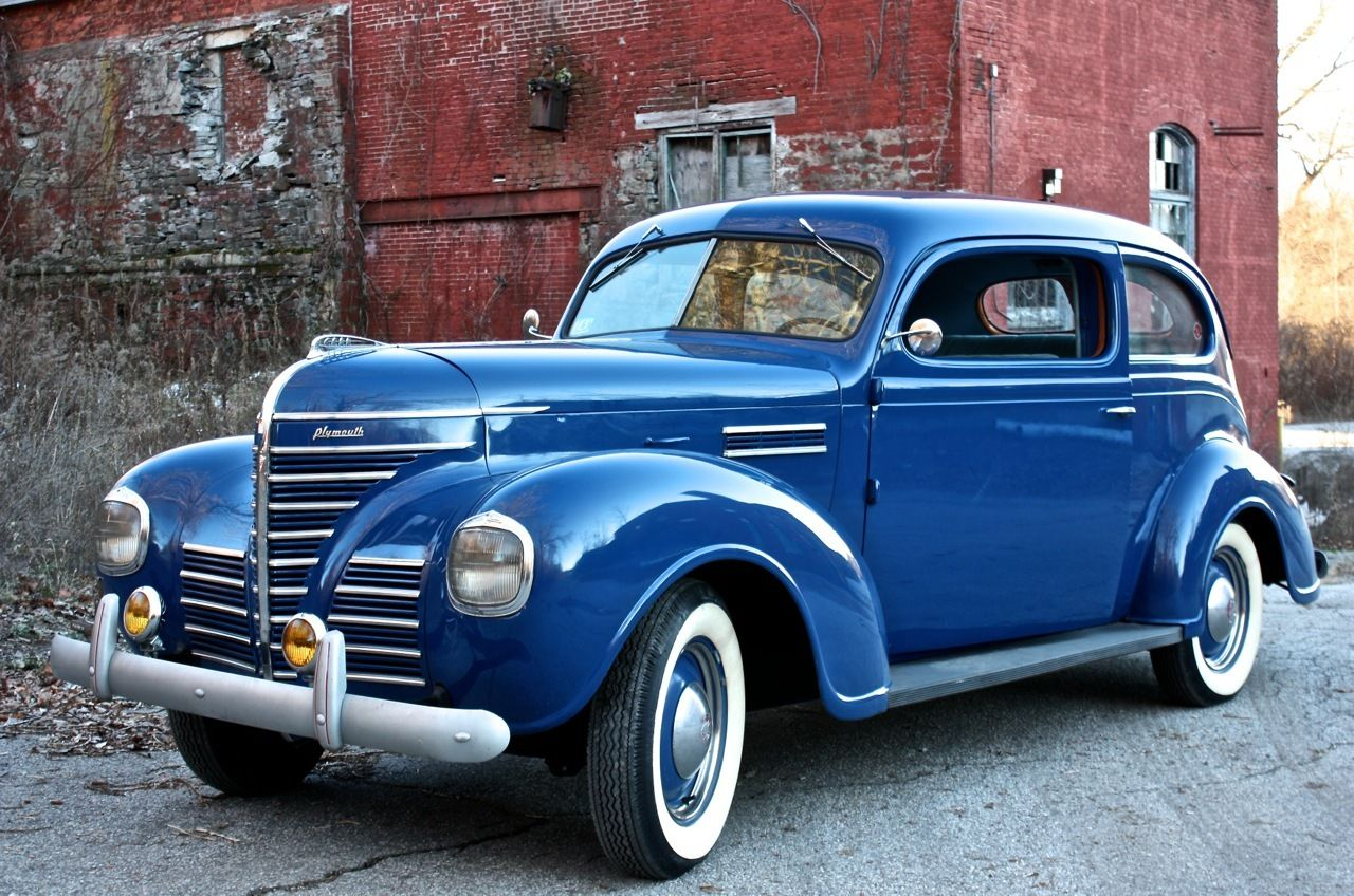 1939 plymouth p7 road king two door touring sedan very
