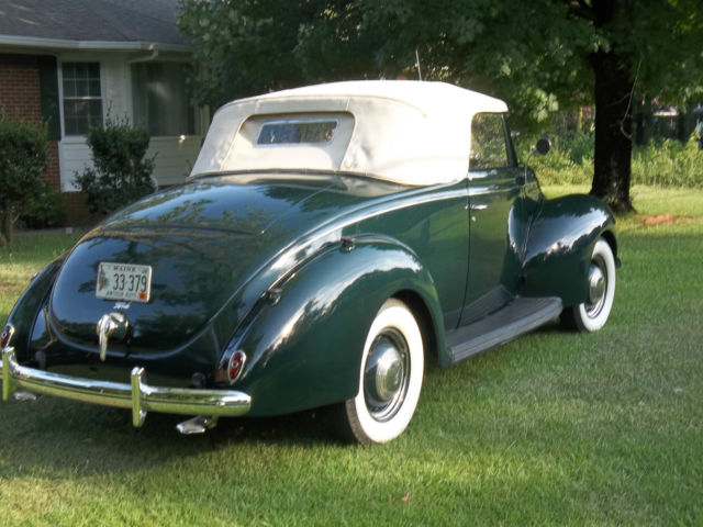 Used Cars Dartmouth >> 1939 V8 FORD DELUXE RUMBLE SEAT CABRIOLET, Body off ...