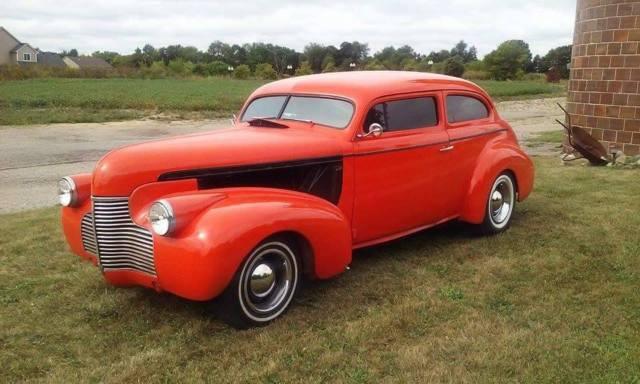 1940 chevy 2 door sedan chop top street rod mustang ii for 1940 chevy 2 door