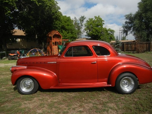 Chevy Colorado Springs >> 1940 Chevy Business Coupe 383 Stroker Fully Restored ...