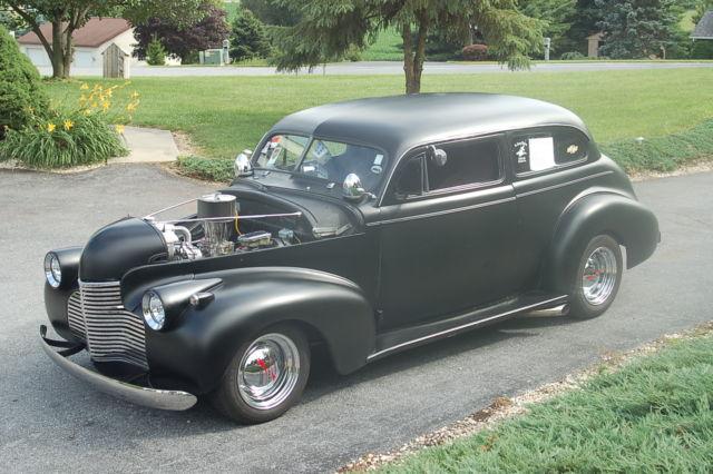 1940 chevy chopped top 2 door sedan classic chevrolet for 1940 chevy 2 door