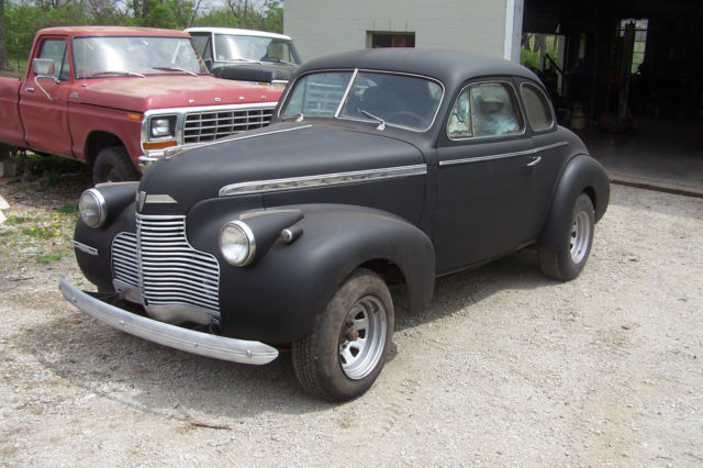 1940 CHEVY SPECIAL DELUXE BUSINESS COUPE - Classic Chevrolet Special