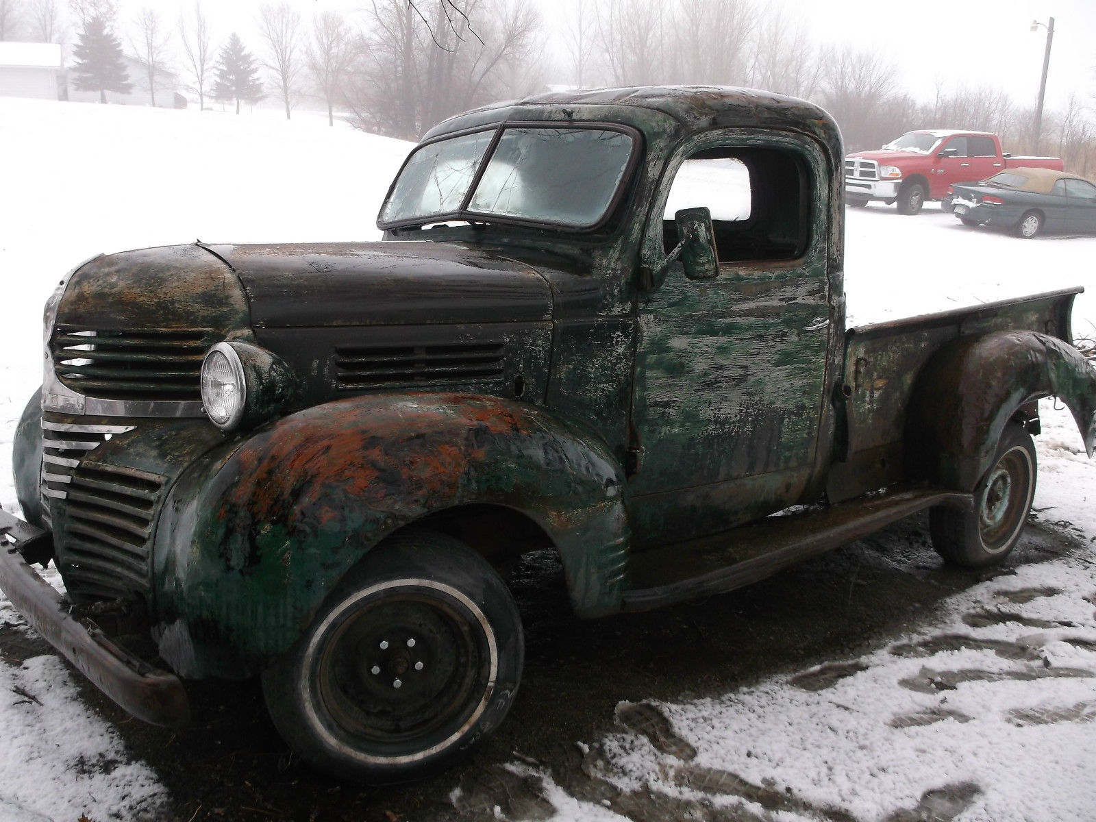 1940 Dodge Pickup Truck 1 2 Ton Short Box Patina Rat Rod Classic Dodge Other Pickups 1940 For Sale