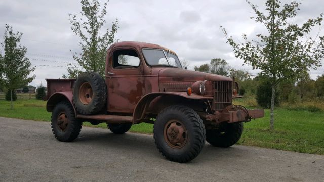 Old Dodge Power Wagon For Sale >> 1940 Dodge Power Wagon RUNS AND DRIVES!! Winch bumper - Classic Dodge Power Wagon 1940 for sale