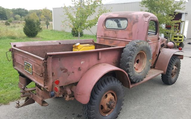 1940 Dodge Power Wagon RUNS AND DRIVES!! Winch bumper ...