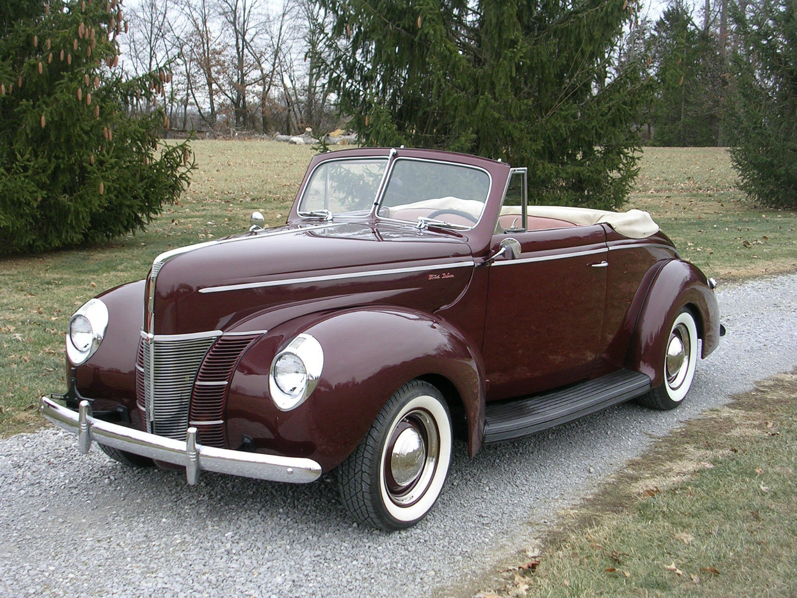 1940 Ford 2 Door Deluxe Convertible Coupe Classic Ford Other 1940 For Sale