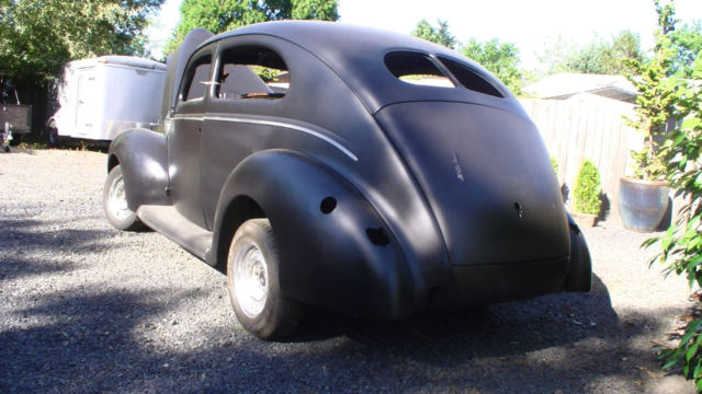 1940 ford 2 door sedan hot rod project classic ford for 1940 ford two door sedan
